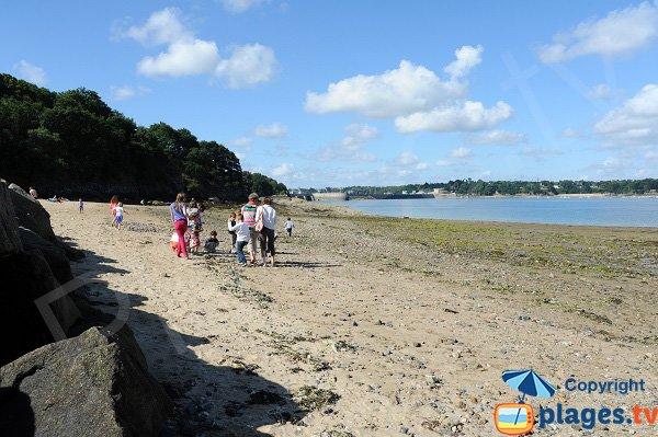 Photo de la plage du Rosais à Saint-Malo