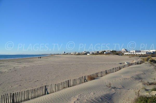 Foto della spiaggia della Rose des Sables a La Grande Motte - Francia