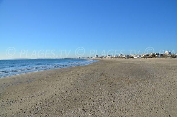 Foto della spiaggia di La Grande Motte - porto