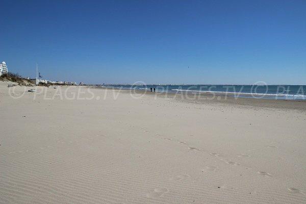 Spiaggia delle Roses des Sables a La Grande Motte - Francia