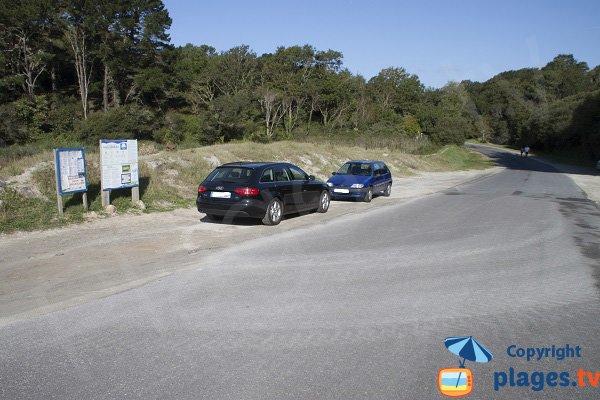 Parking de la plage de Rospico - Névez