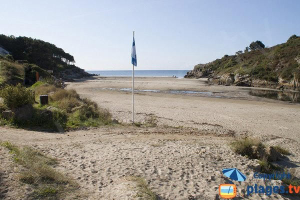 Photo de la plage de Rospico à Névez - Bretagne