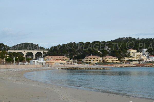 Grandi spiagge di Carry le Rouet