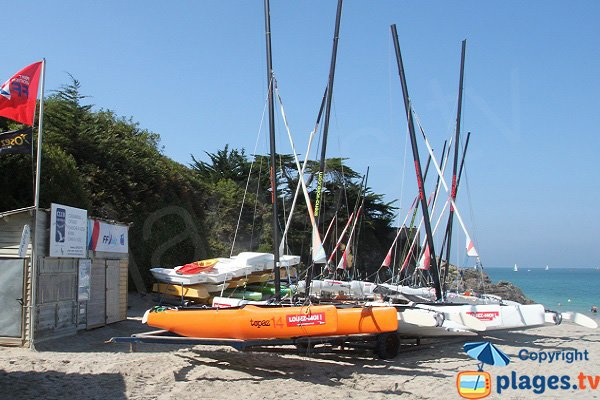 Nautical center in St Jacut de la Mer