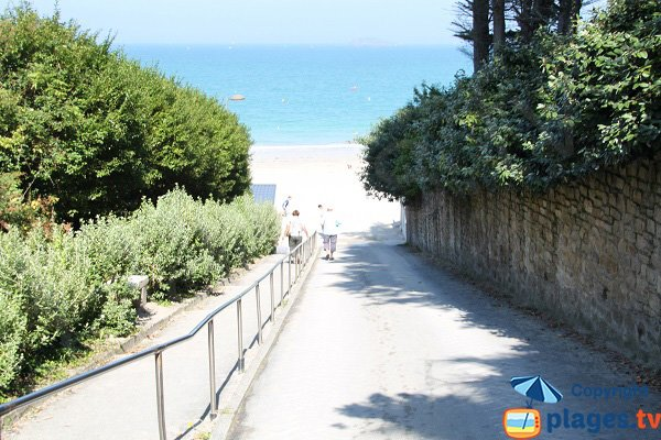 Access to Rougeret beach - Saint Jacut de la Mer
