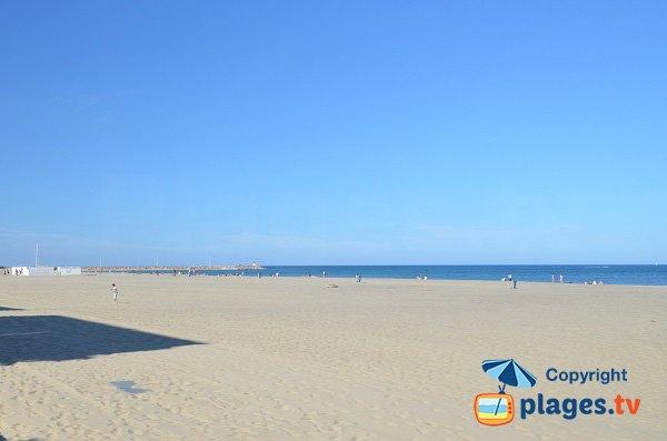 Photo de la plage du Roussillon au Canet