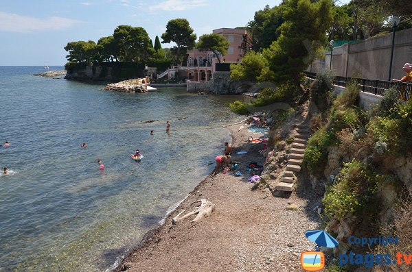 Rouvier cove in Saint Jean Cap Ferrat in France