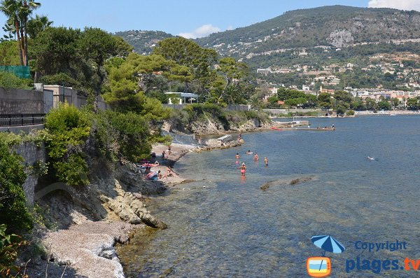 Photo des criques de Rouvier à Saint Jean Cap Ferrat
