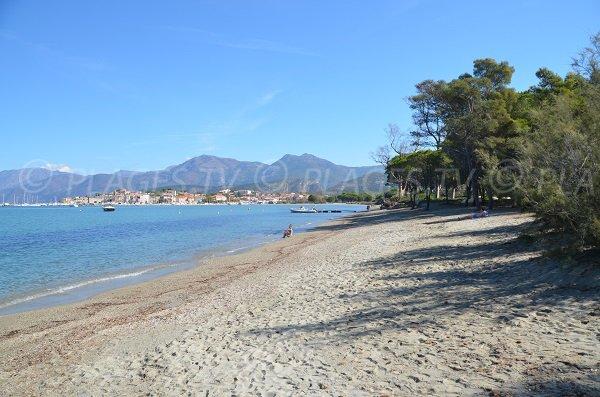 Photo of sand beach of Saint-Florent