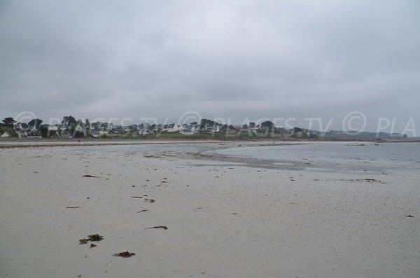 Photo de la plage de Royau à Trévou Tréguignec
