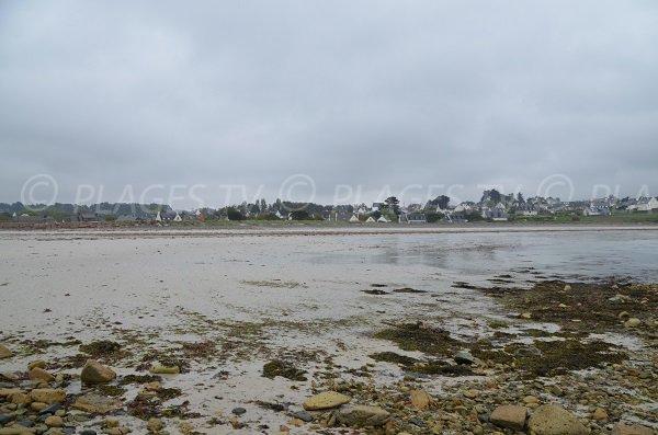 Environnement de la plage de Royau