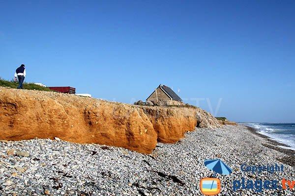 Photo de la plage de Ru Vein à Plovan dans le Finistère sud