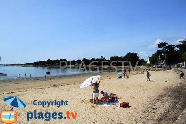 Photo de la plage de Rudevent sur l'ile d'Arz