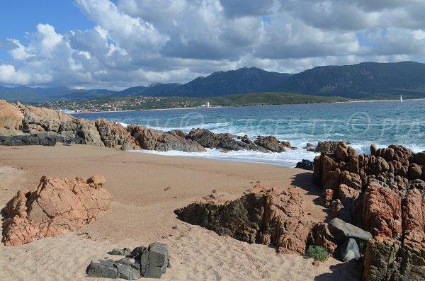 Crique du Ruesco à Olmeto en Corse du Sud