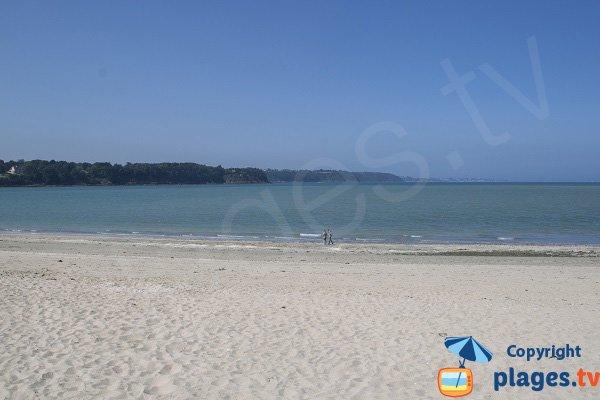 Fréhel vue depuis la plage du Ruet à St Jacut de la Mer