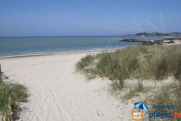 Photo de la plage du Ruet à St Jacut de la Mer