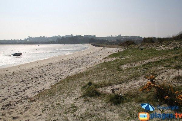 Beach of Ruguel in Roscoff