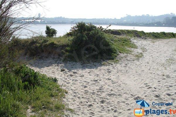 Photo of Ruguel beach in Roscoff