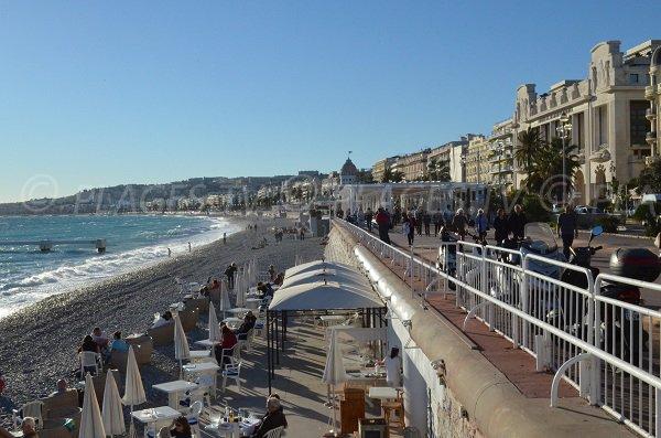 Plage privée du casino Ruhl de Nice