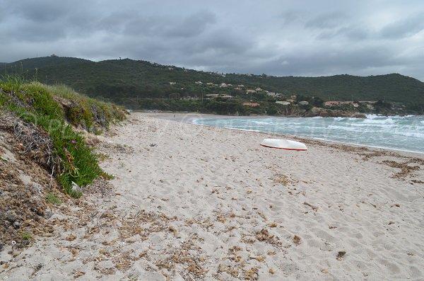 Photo de la plage de Ruppione en Corse (Pietrosella)