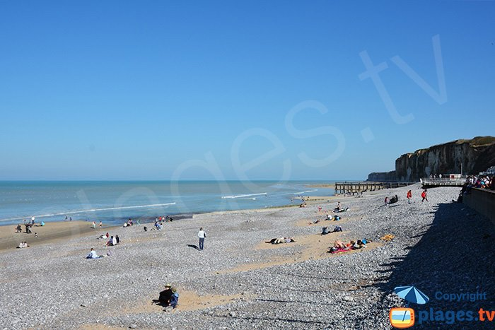 Veules les Roses and its beach - Normandy - France