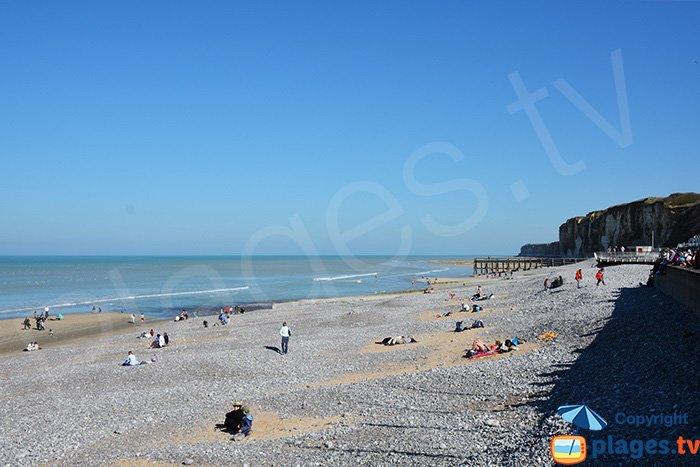 Veules les Roses et sa plage - Normandie