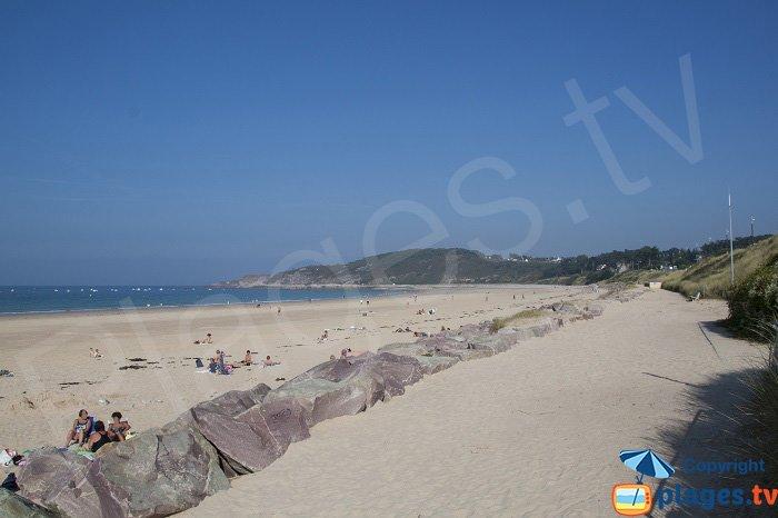 Sable d'Or les Pins great beach