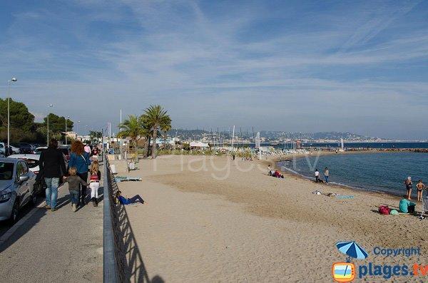 Foto della spiaggia Sable d'Or di Mandelieu la Napoule in Francia