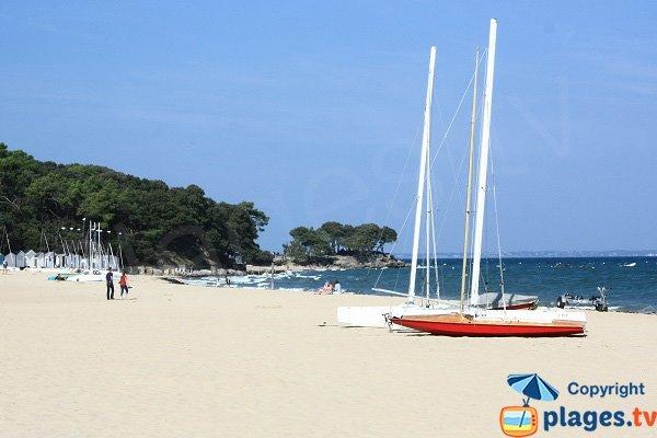 North end of the Sableaux beach - Noirmoutier