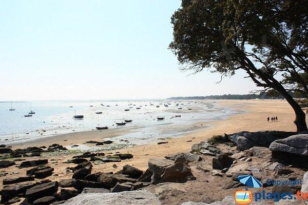 Spiaggia dei Sableaux - bassa marea - Noirmoutier