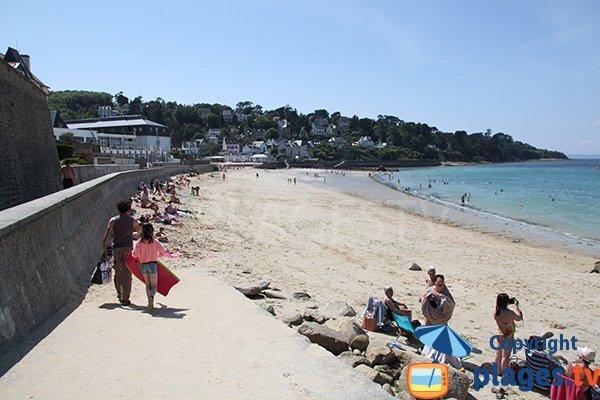 Foto della spiaggia Les Sables Blancs a Douarnenez - Tréboul