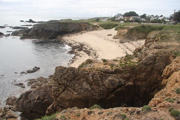 Photo de la plage des Sables Menus au Croisic