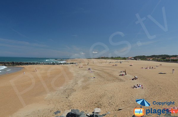 Public beach in Anglet