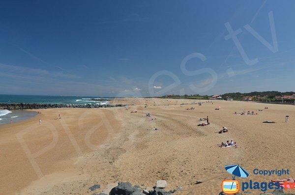 Spiaggia pubblica a Anglet