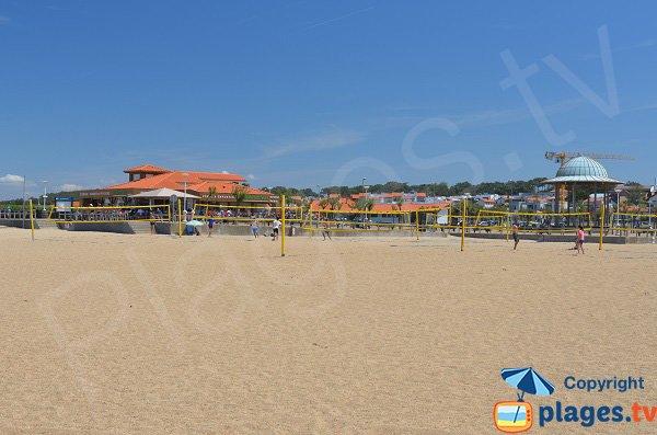 Restaurants et snack sur la plage des Sables d'Or - Anglet