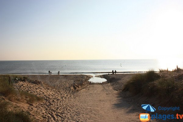 Sables d'Or beach - Noirmoutier