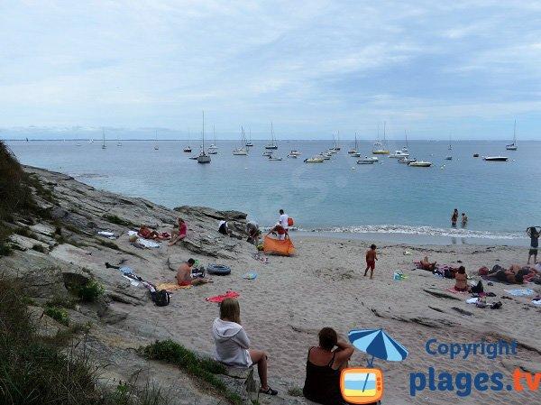Rocks of Sables Rouges beach - Ile de Groix