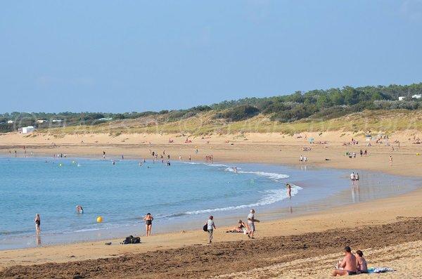 Spiaggia di sabbia Vignier a Saint Georges d'Oléron - Francia