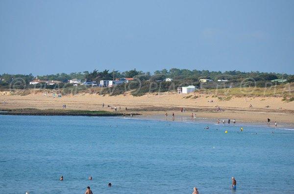 Spiaggia Les Sables Vignier sull'isola d'Oléron