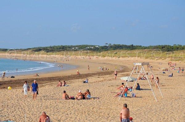Foto della spiaggia Les Sables Vignier a St Georges d'Oléron in Francia