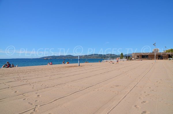 Photo of Sablettes beach in Fréjus - France