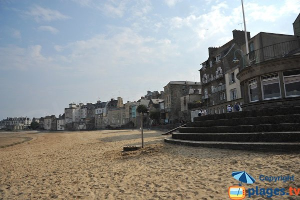 Spiaggia Bas Sablons a Saint Malo