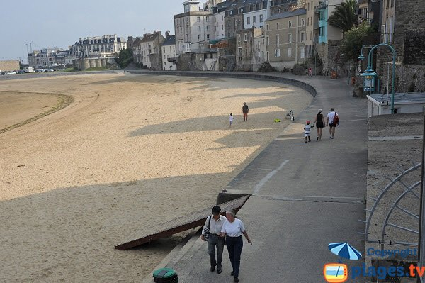 Foto della spiaggia Bas Sablons a Saint-Malo - Francia