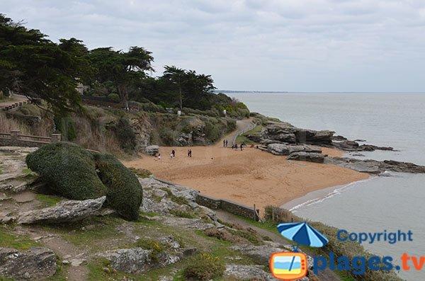 Photo de la plage des Sablons à Pornic