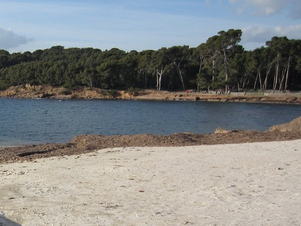 Photo of Sainte Asile beach in Saint Mandrier in France