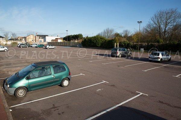 Parking of St Aubin beach
