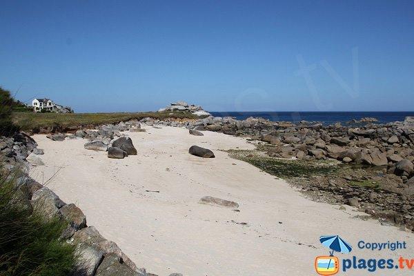 Photo de la plage de Saint Eden de Plouescat