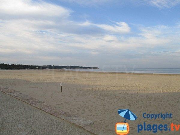 Untamed area in Saint Georges de Didonne Beach