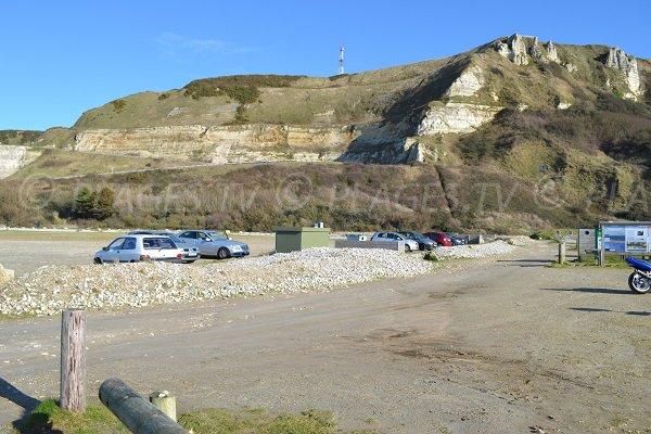 Parking de la plage de Saint Jouin Bruneval