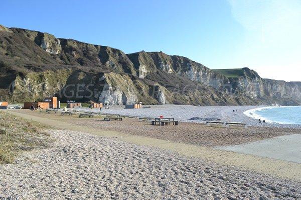 Photo de la plage de Saint Jouin en Normandie